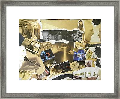 Mix Of Modern And Traditional Painting Framed Print by Rajendra Yadav