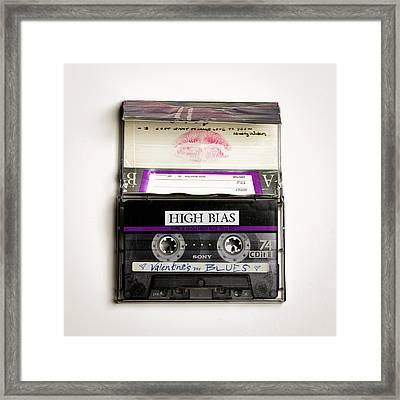 Mix Tape 3 Framed Print