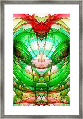 Mixed Bliss Framed Print by Marie Ward-Alonge