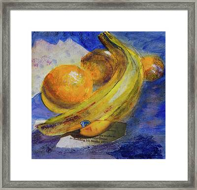 Mixed Fruit Framed Print