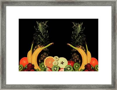 Framed Print featuring the photograph Mixed Fruits by Shane Bechler