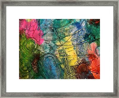 Mixed Media 11 By Rafi Talby Framed Print by Rafi Talby