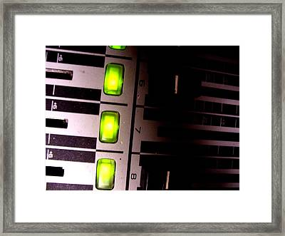 Mixed Framed Print by Michael Grubb