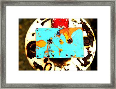 Mixed Tape 1 Framed Print