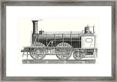 Mixed Traffic Locomotive Framed Print by English School