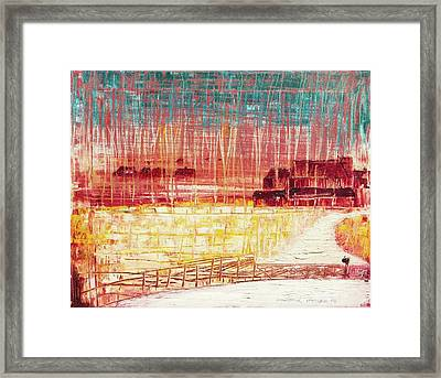 Mixville Road Framed Print