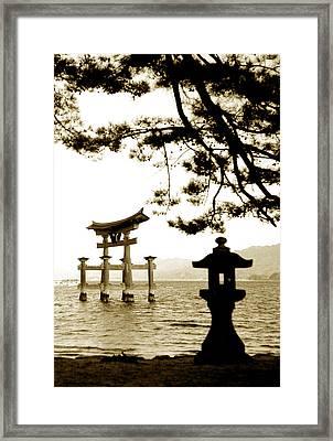 Miyajima Island Framed Print