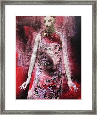 Mizz Oni Framed Print