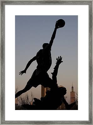 MJ Framed Print by Andrei Shliakhau