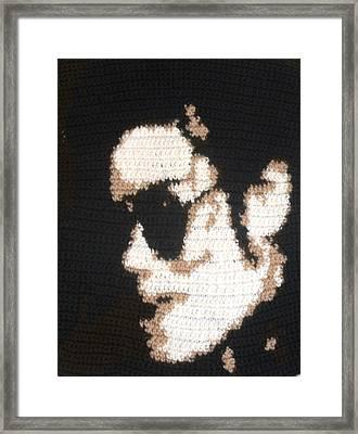 Mj Super Artist Framed Print