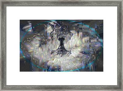 Mjollnir Framed Print by JC Swart