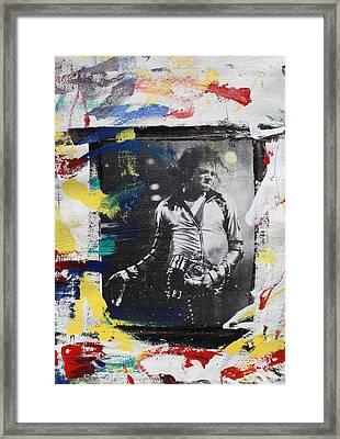 Mj's Mirror  Framed Print