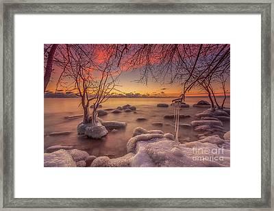 Mke Freeze Framed Print