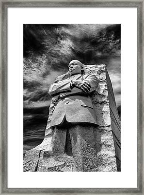 Mlk Memorial Framed Print
