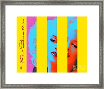 Mmarilyn 130 Sis Framed Print