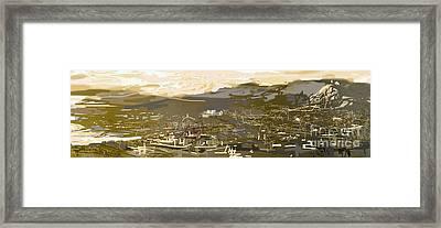 Mmm Athens Framed Print by Jelena Ignjatovic