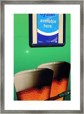 Mmmhh Beer Framed Print by Jez C Self