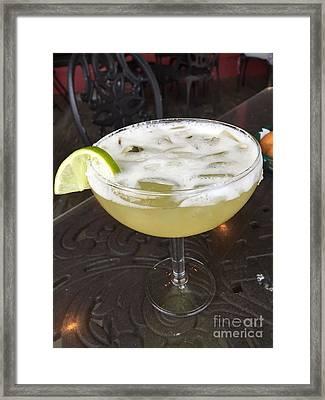Mmmmm Margarita Framed Print