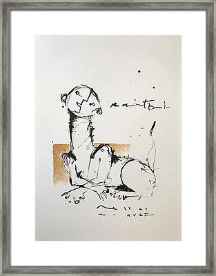 Mmxvii An Obedient Beast  Framed Print