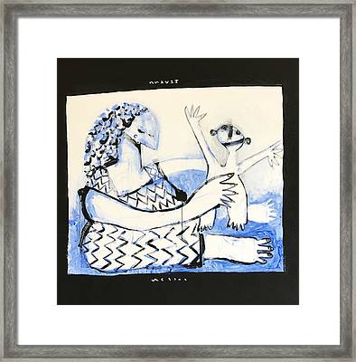 Mmxvii Childhood Framed Print by Mark M Mellon