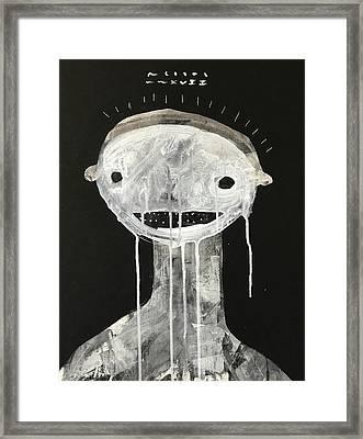 Mmxvii Demons No 2  Framed Print by Mark M Mellon