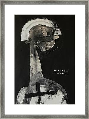 Mmxvii Demons No 5  Framed Print by Mark M Mellon