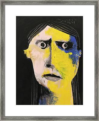 Mmxvii Expressions No 1  Framed Print