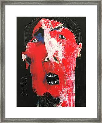 Mmxvii Expressions No 3  Framed Print