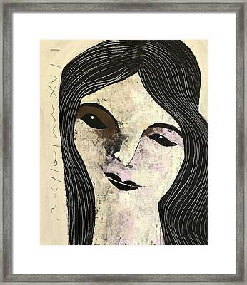Mmxvii Expressions No 4  Framed Print