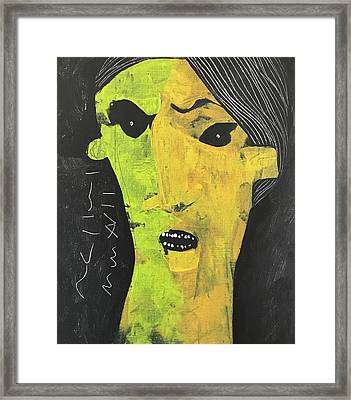 Mmxvii Expressions No 6  Framed Print