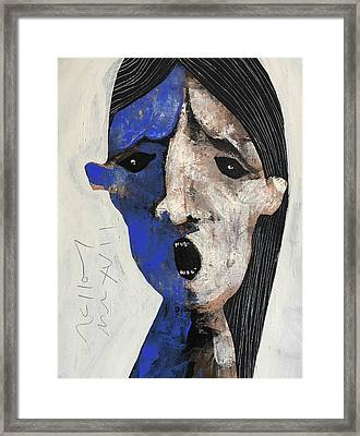 Mmxvii Expressions No 7 Framed Print