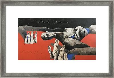 Mmxvii Fallen No 1  Framed Print