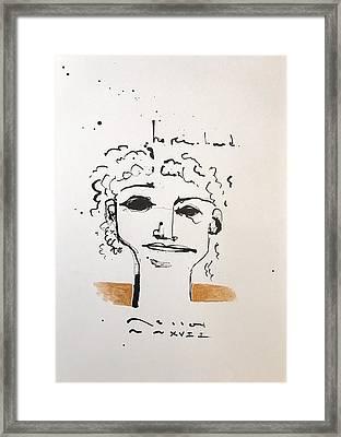 Mmxvii He Remembered  Framed Print