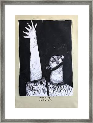 Mmxvii Hope  Framed Print by Mark M Mellon