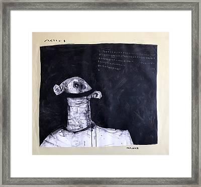 Mmxvii Innocence  Framed Print by Mark M Mellon