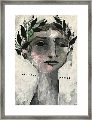 Mmxvii Life And Immortality  Framed Print