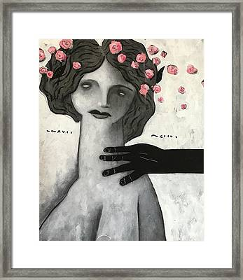 Mmxvii Life And Immortality No 2  Framed Print