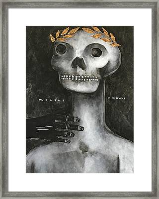 Mmxvii Life And Immortality No 3 Framed Print