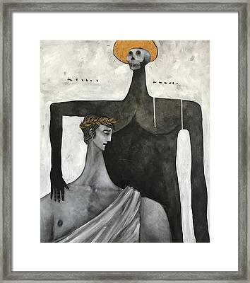 Mmxvii Life And Immortality No 6  Framed Print