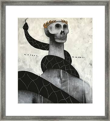 Mmxvii Life And Immortality No 9  Framed Print