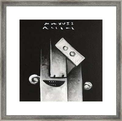 Mmxvii Masks For Despair  Framed Print by Mark M Mellon