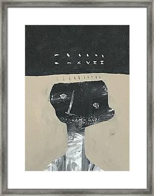 Mmxvii Memories No 2  Framed Print