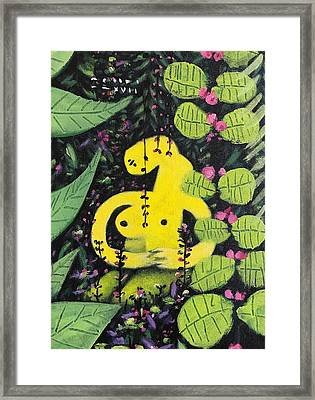 Mmxvii Paradise No 2  Framed Print