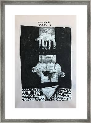 Mmxvii Paranoia No 1  Framed Print by Mark M Mellon