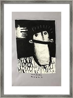 Mmxvii Paranoia No 3  Framed Print by Mark M Mellon