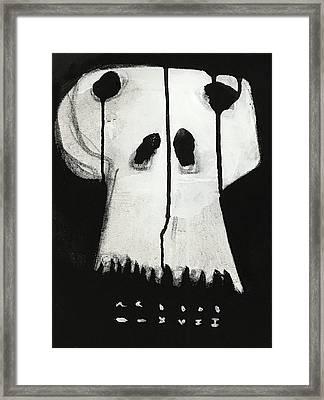 Mmxvii Skulls No 1  Framed Print