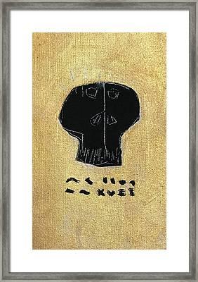 Mmxvii Skulls No 2  Framed Print