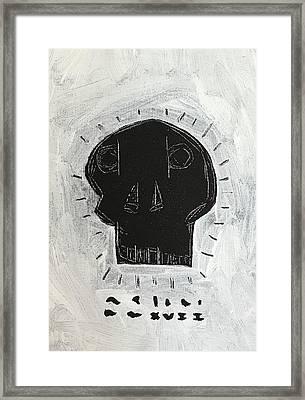 Mmxvii Skulls No 4  Framed Print