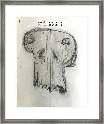 Mmxvii Skulls No 5 Framed Print