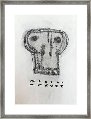 Mmxvii Skulls No 6 Framed Print